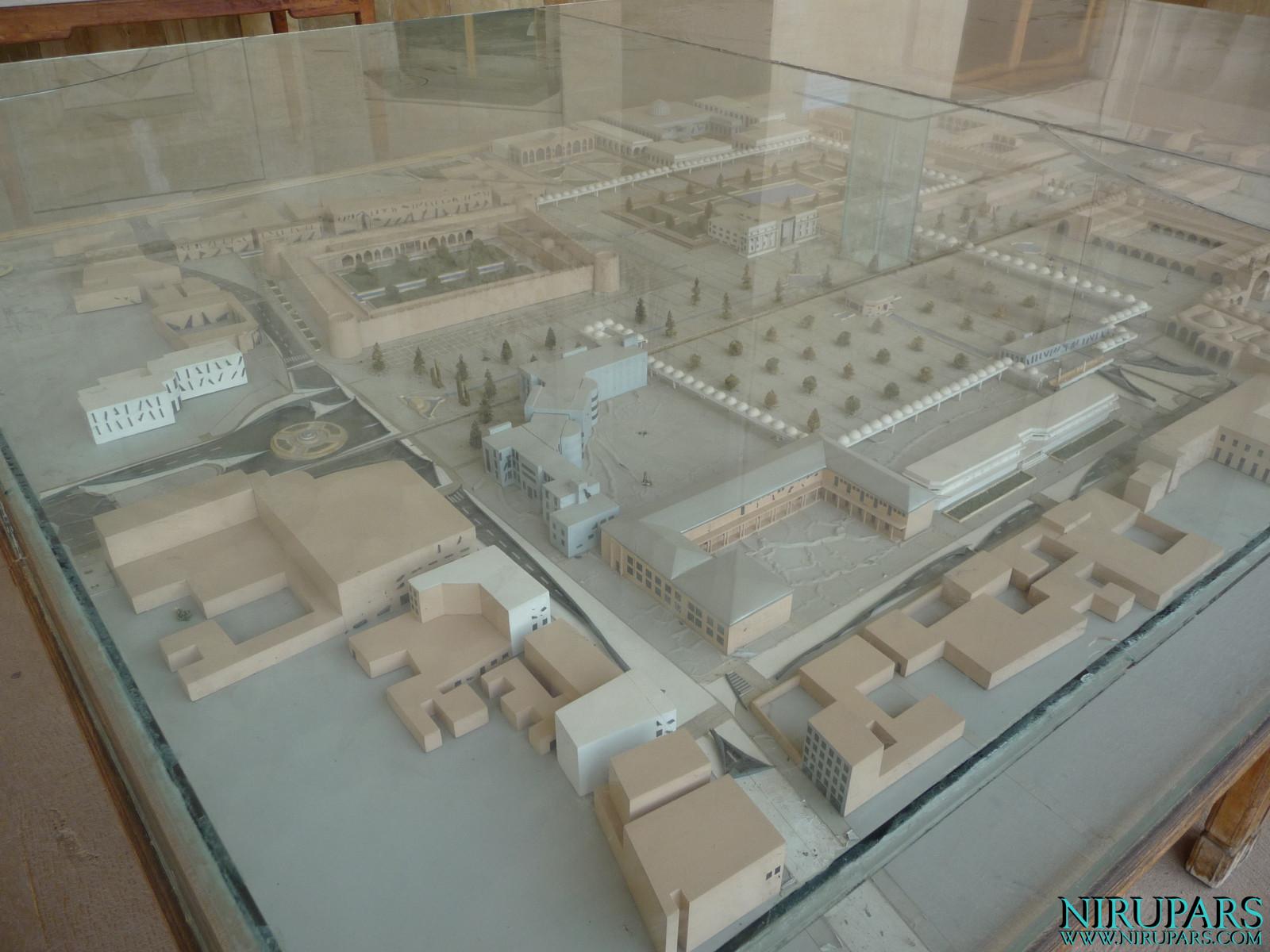 Arg-e Karim Khan - Miniature model