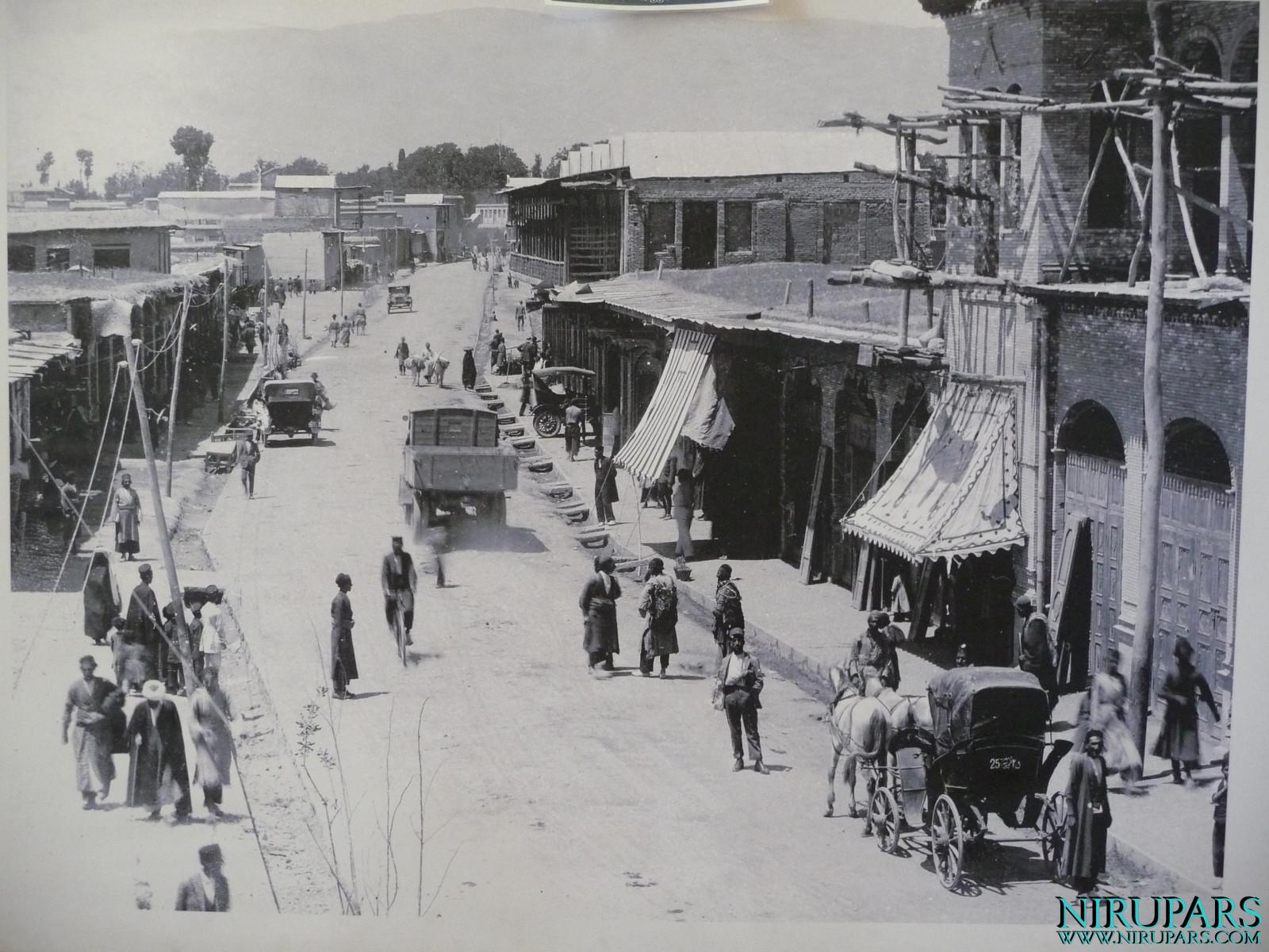 Arg-e Karim Khan - Ferdowsi Street