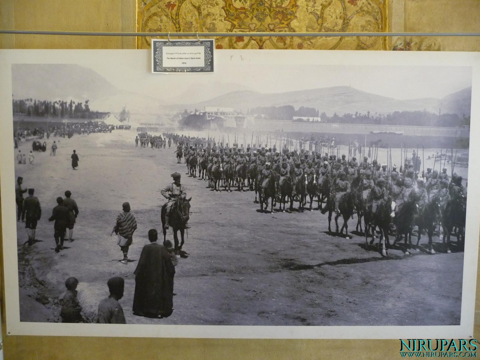 Arg-e Karim Khan - Indian Troops - Zand Street