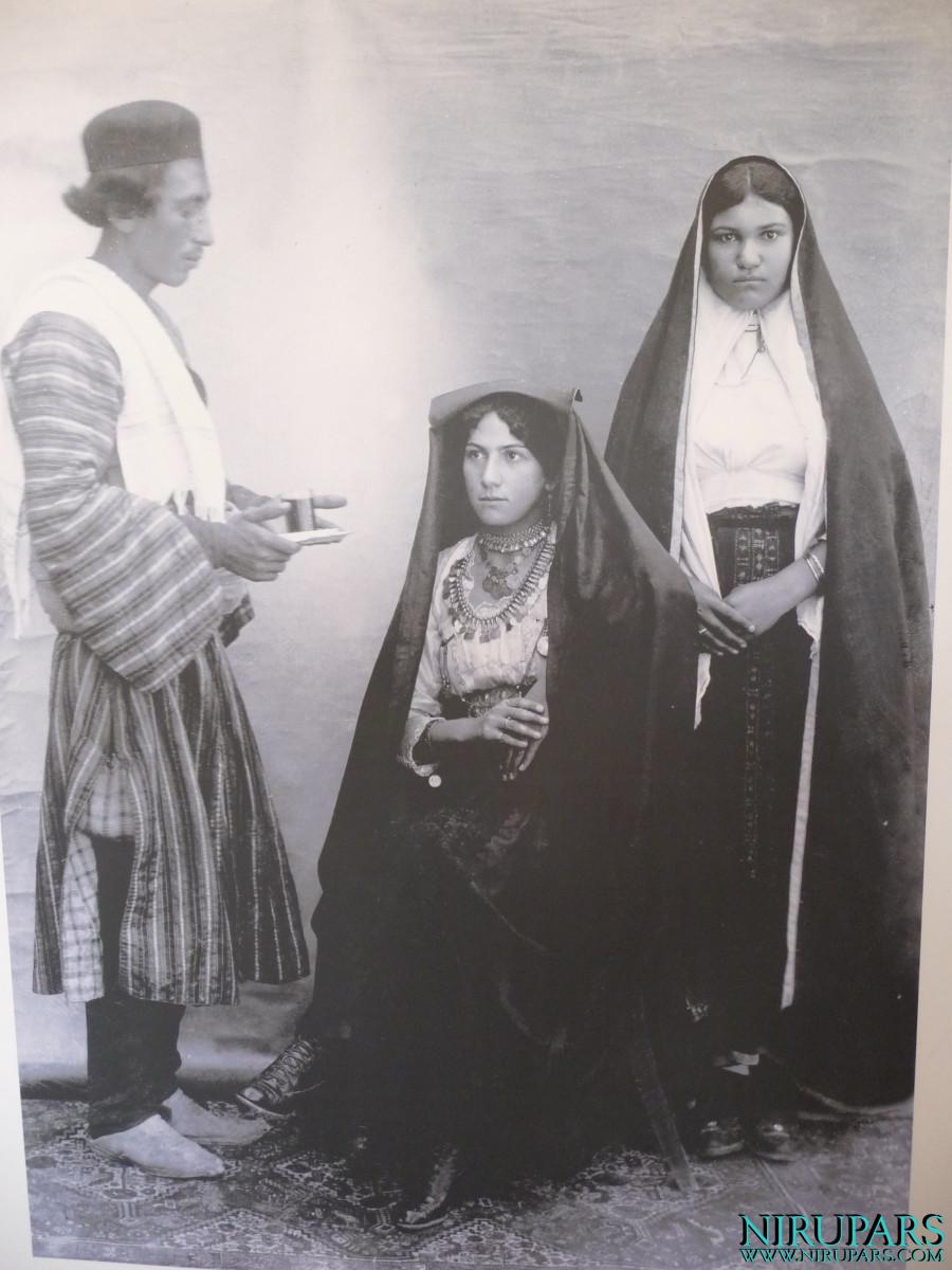 Arg-e Karim Khan - Lady and Servants