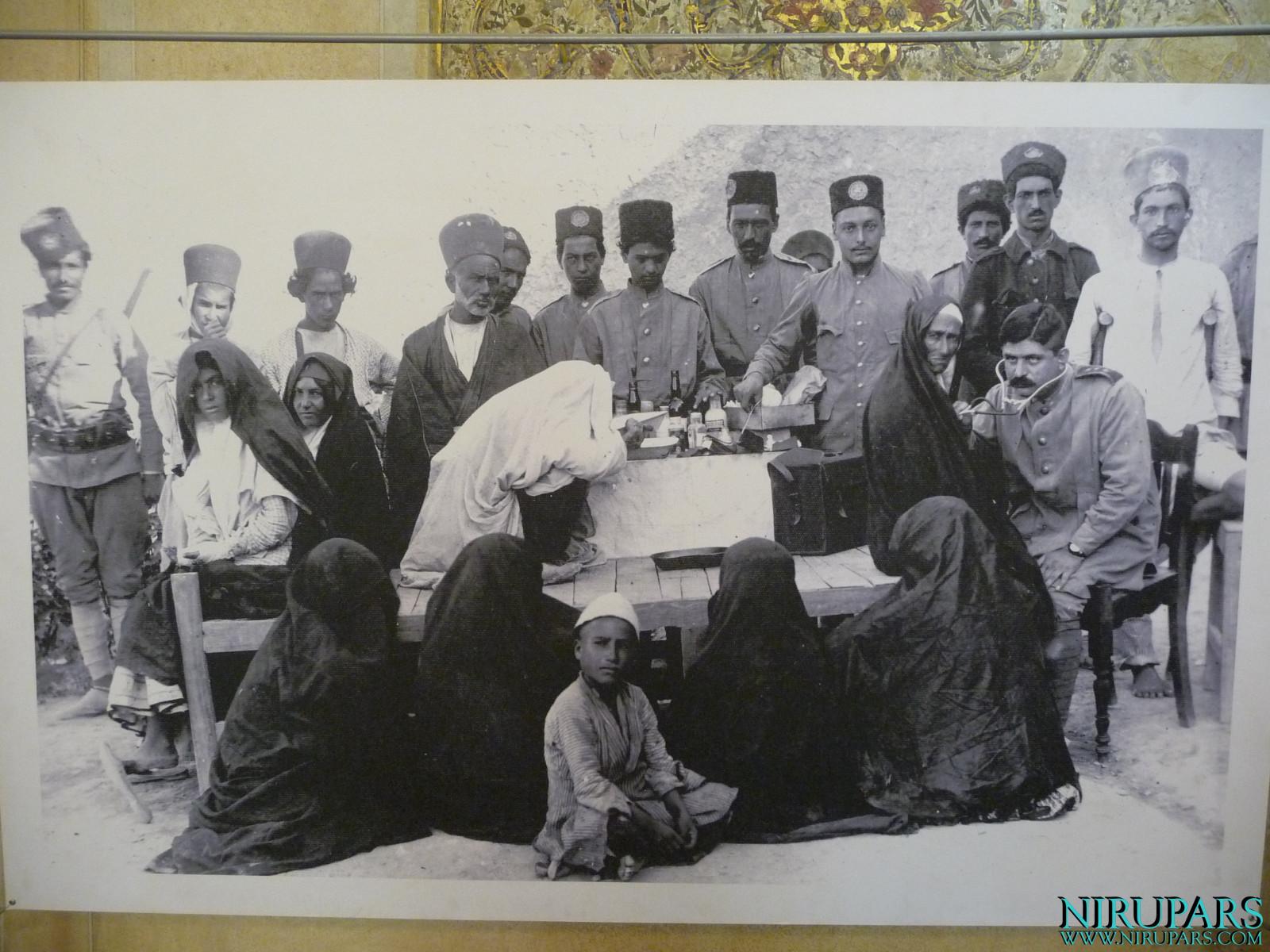Arg-e Karim Khan - Medical Treatment