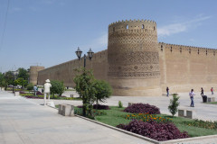 Arg-e Karim Khan - Tower and Wall