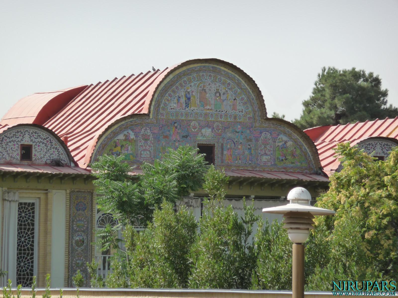 Baq-e Eram - Building - Backside