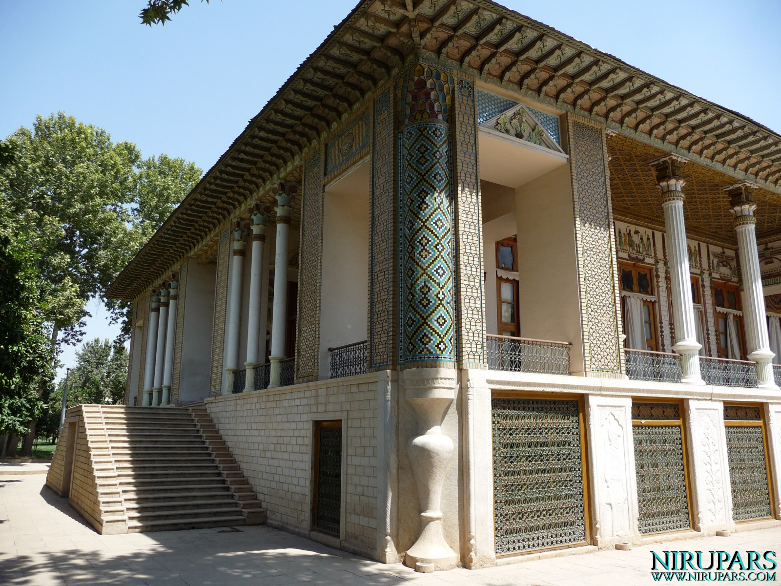 Baq-e Afifabad - Building Backside Exit - Museum