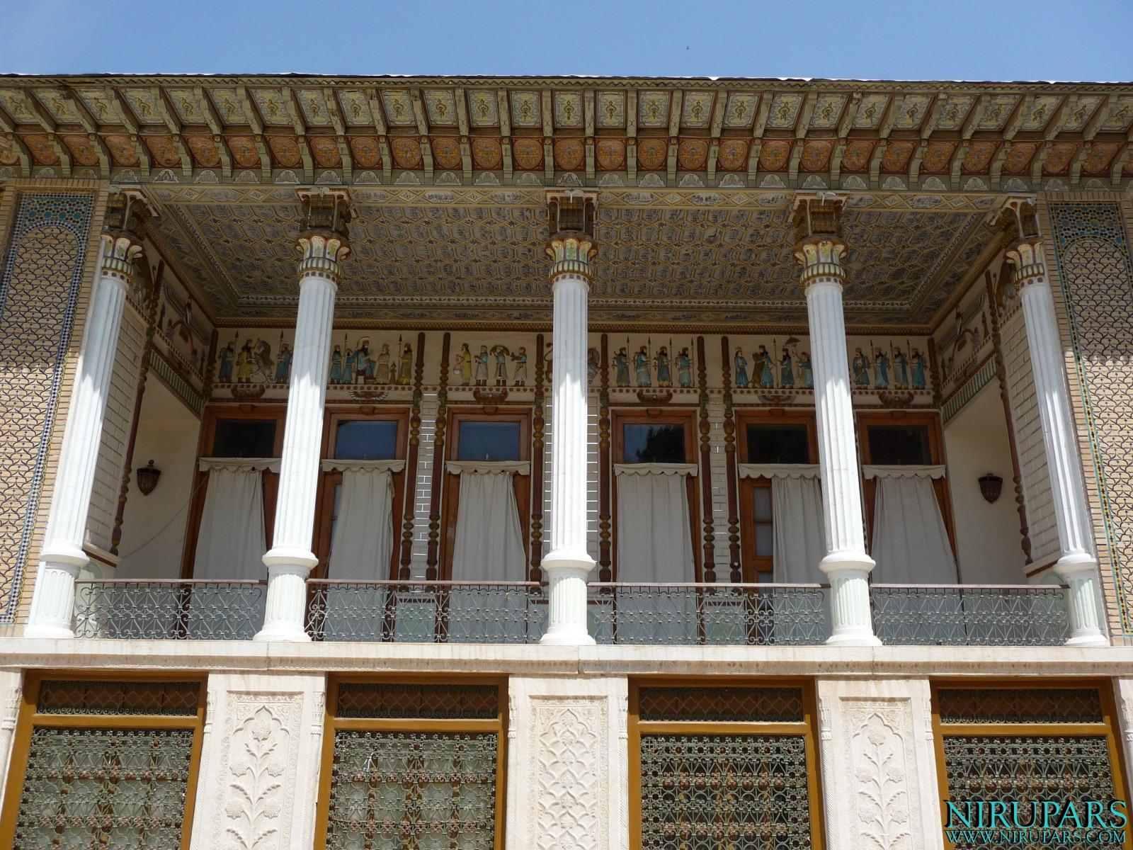 Baq-e Afifabad - Building - Balcony