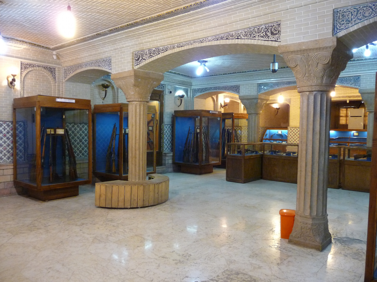 Baq-e Afifabad - Museum - Black Powder Weapons