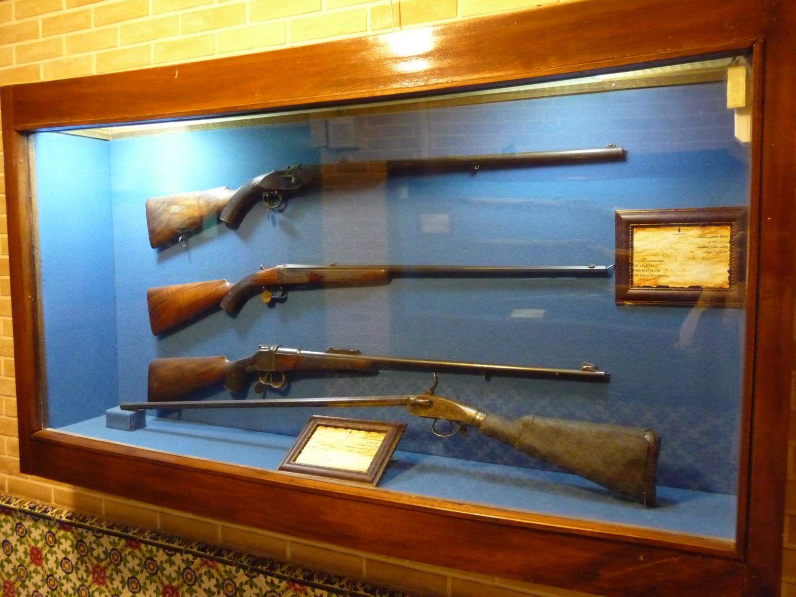 Baq-e Afifabad - Museum - Carabine Rifles 20C France
