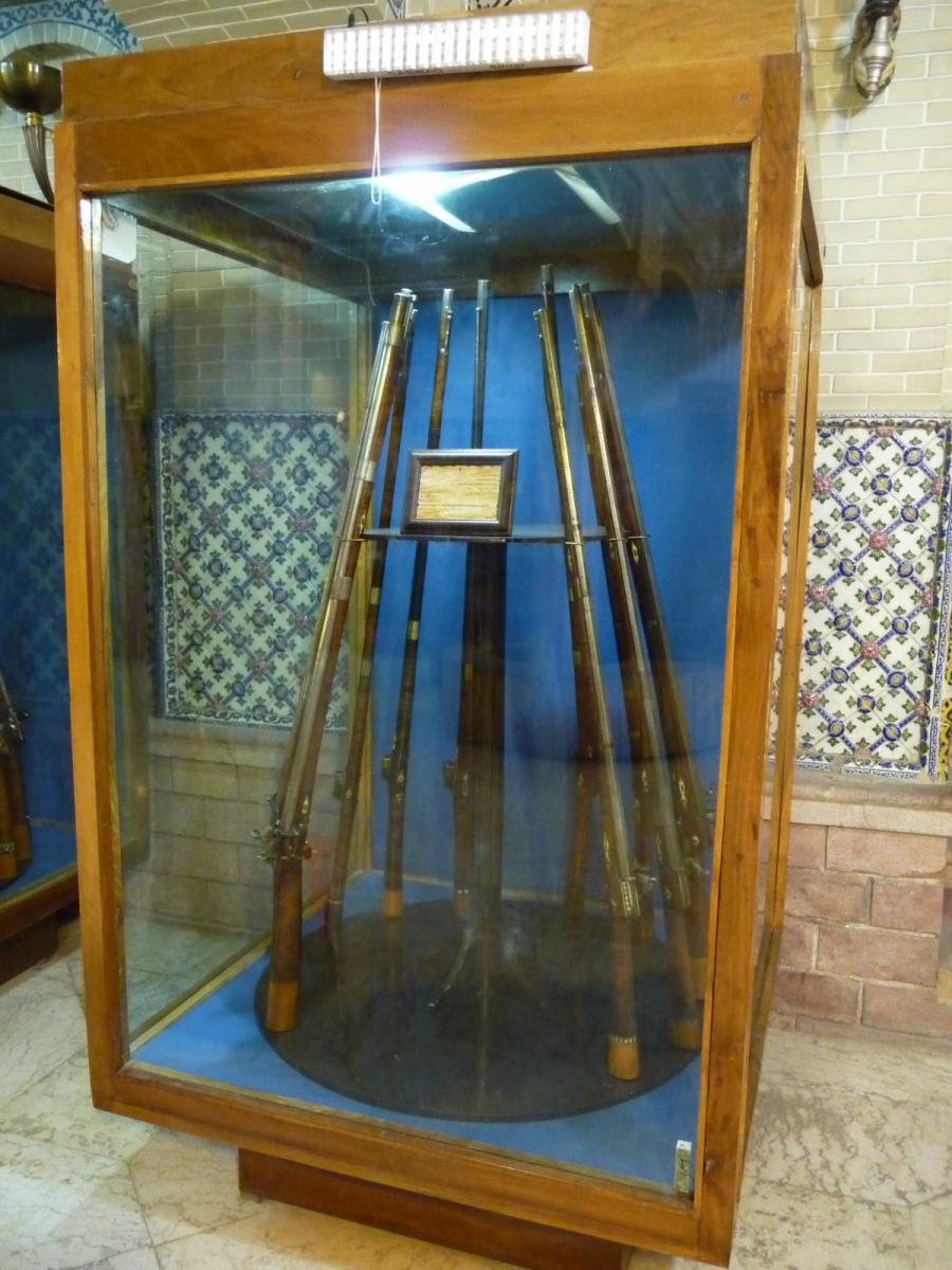 Baq-e Afifabad - Museum - Muskets - Zand Qajar Period 18-19C Iran