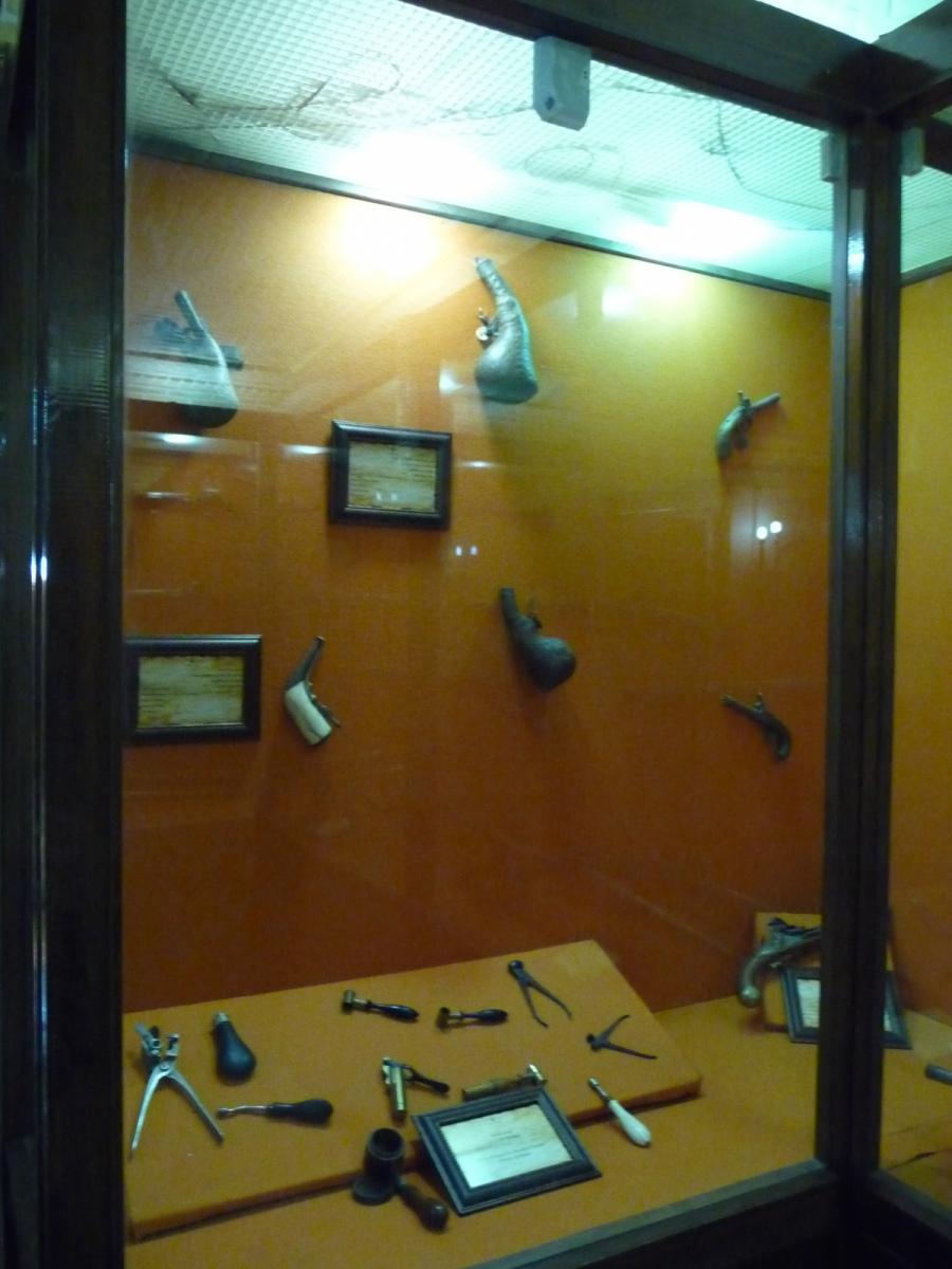 Baq-e Afifabad - Museum - Pistols - Qajar Period 18C Iran