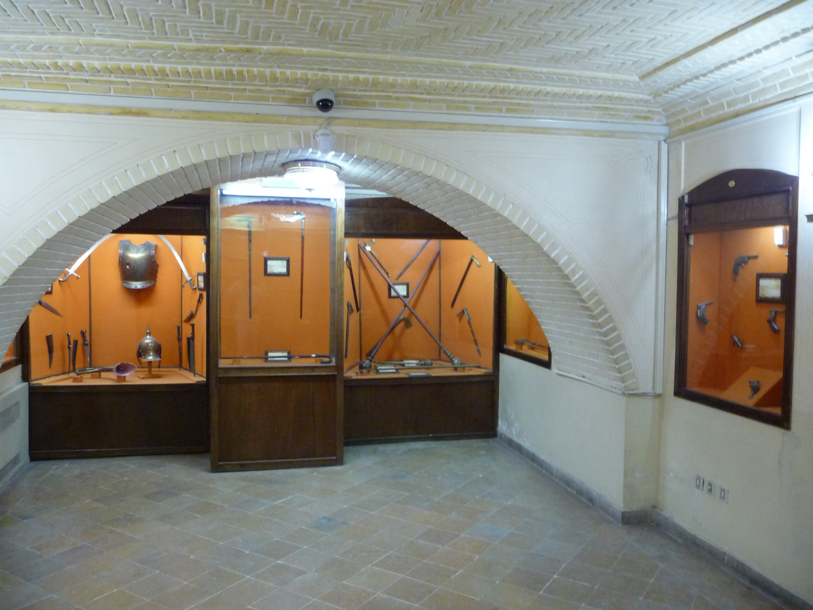 Baq-e Afifabad - Museum - Weapons Steel
