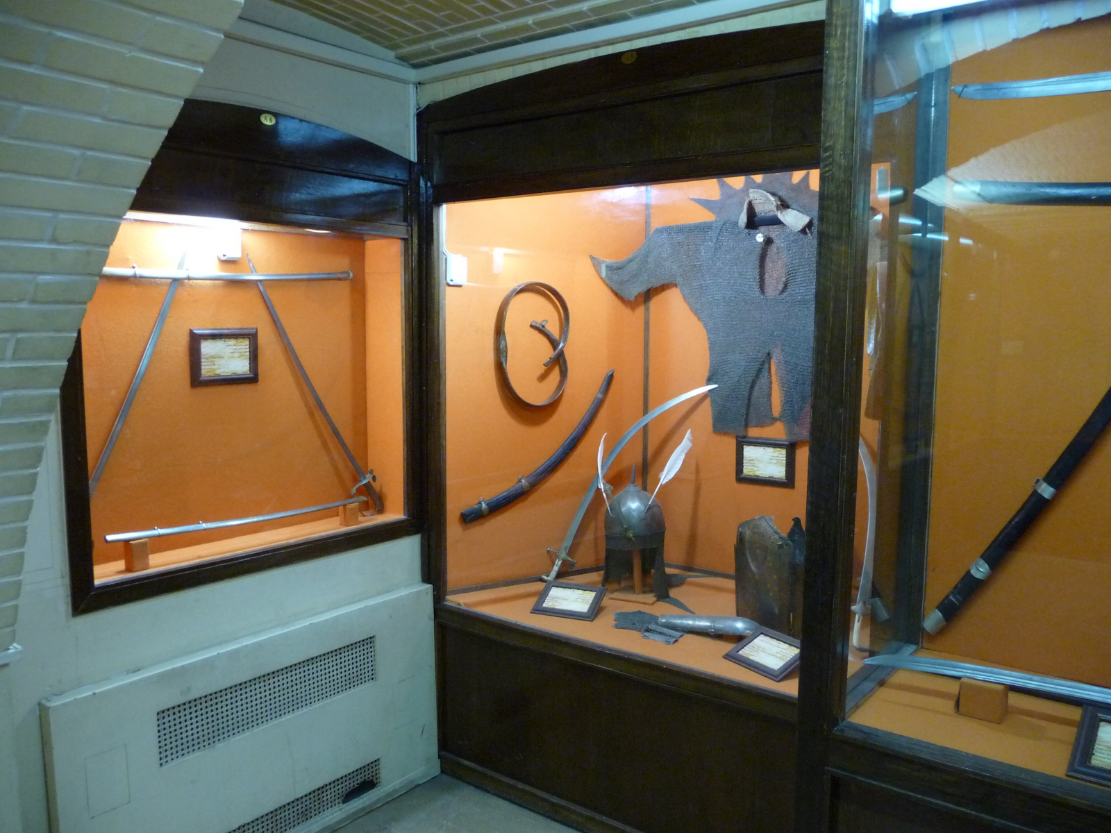 Baq-e Afifabad - Museum - Weapons Steel - Iran