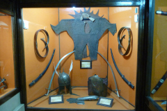 Baq-e Afifabad - Museum - Helmet Swords Armour - Steel - Safavid Period 1501-1722