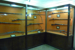 Baq-e Afifabad - Museum - Muskets - Zand Afshar Period 18C