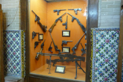 Baq-e Afifabad - Museum - Pistols Machine Guns - Pahlavi Period Germany