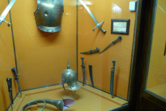 Baq-e Afifabad - Museum - Swords Helmet Armour Knives Steel - Safavid Period 1501-1722 Iran