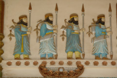 Baq-e Afifabad - Relief - Achaemenian Soldiers