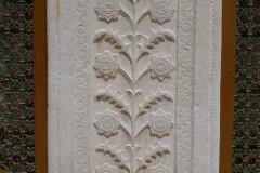 Baq-e Afifabad - Relief Facade Flower