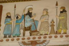 Baq-e Afifabad - Relief - Throne Scene