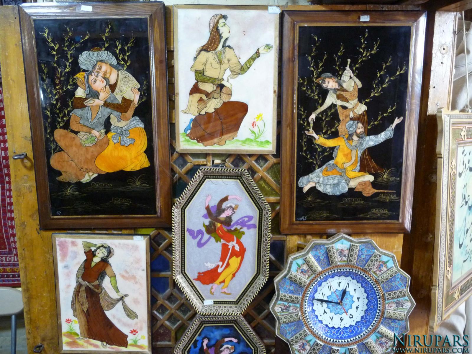 Bazaar Vakil - Painting