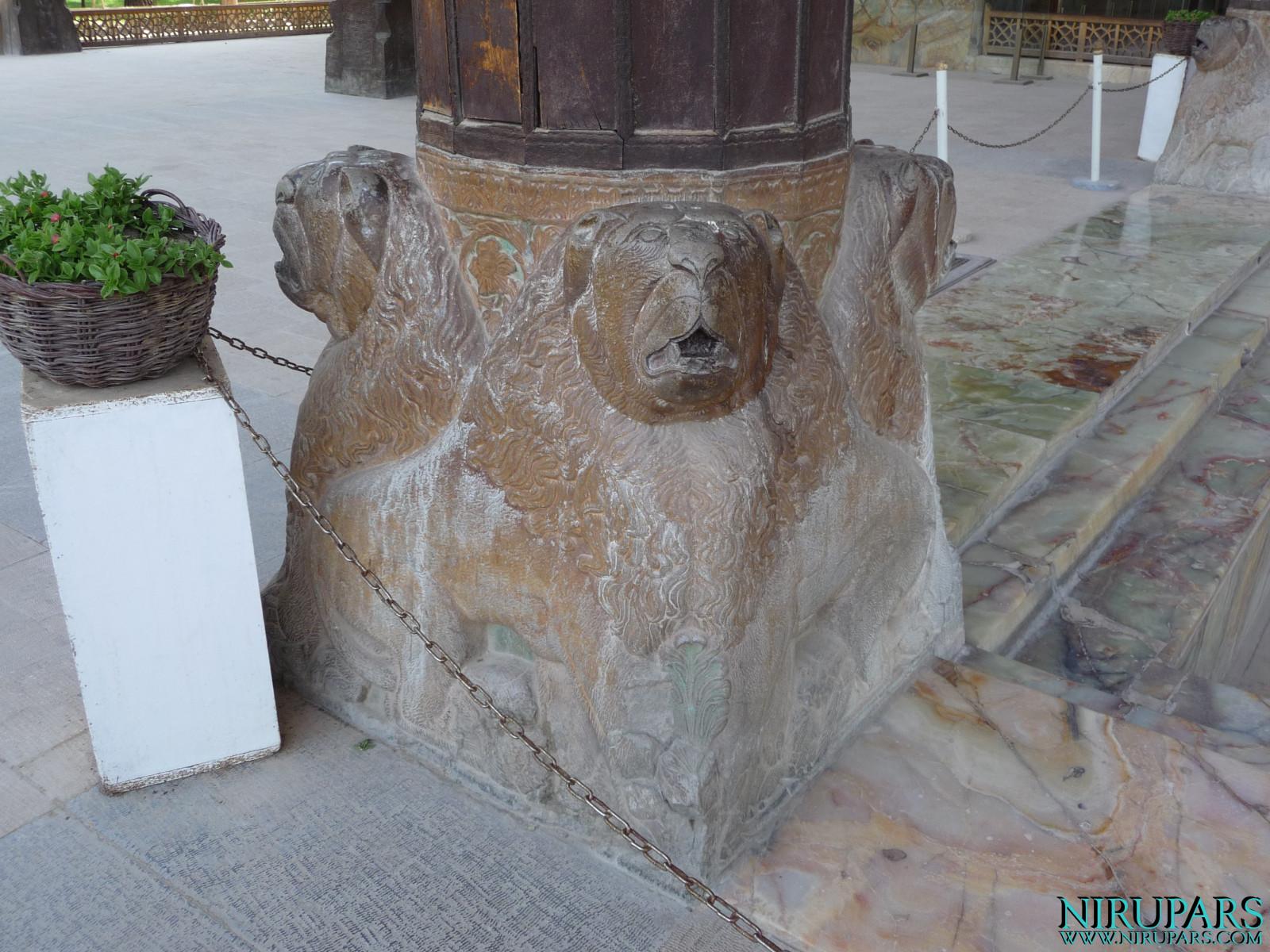 Chehel Sotun - Building Column Base
