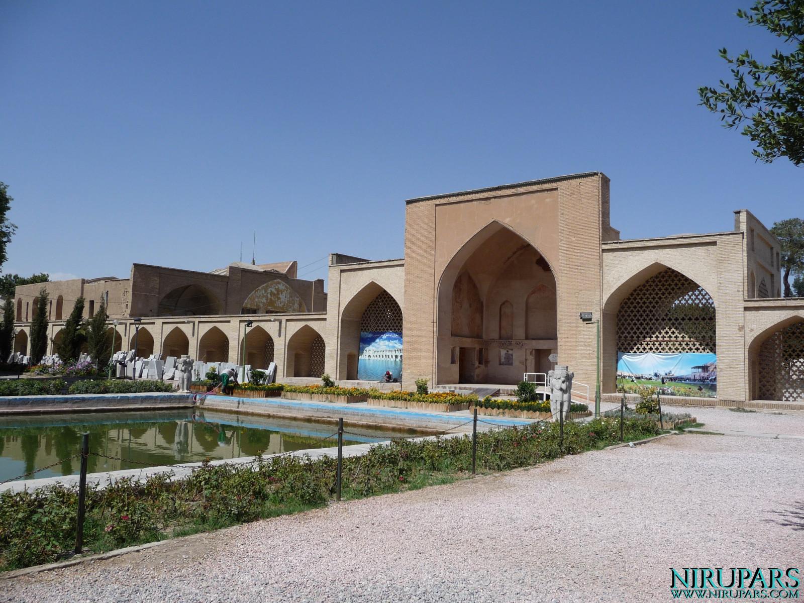 Chehel Sotun - Entrance Gate