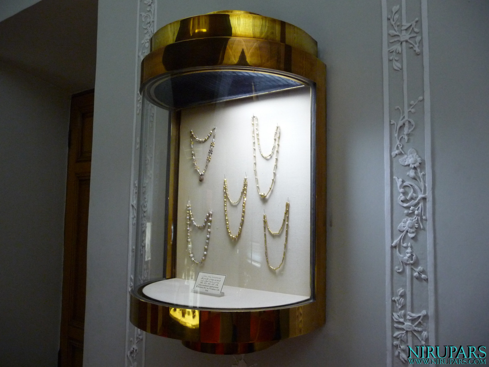 Glassware and Ceramic Museum - Necklaces Glass