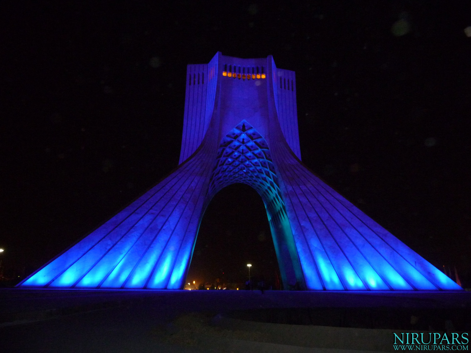 Meydan-e Azadi - Night Blue