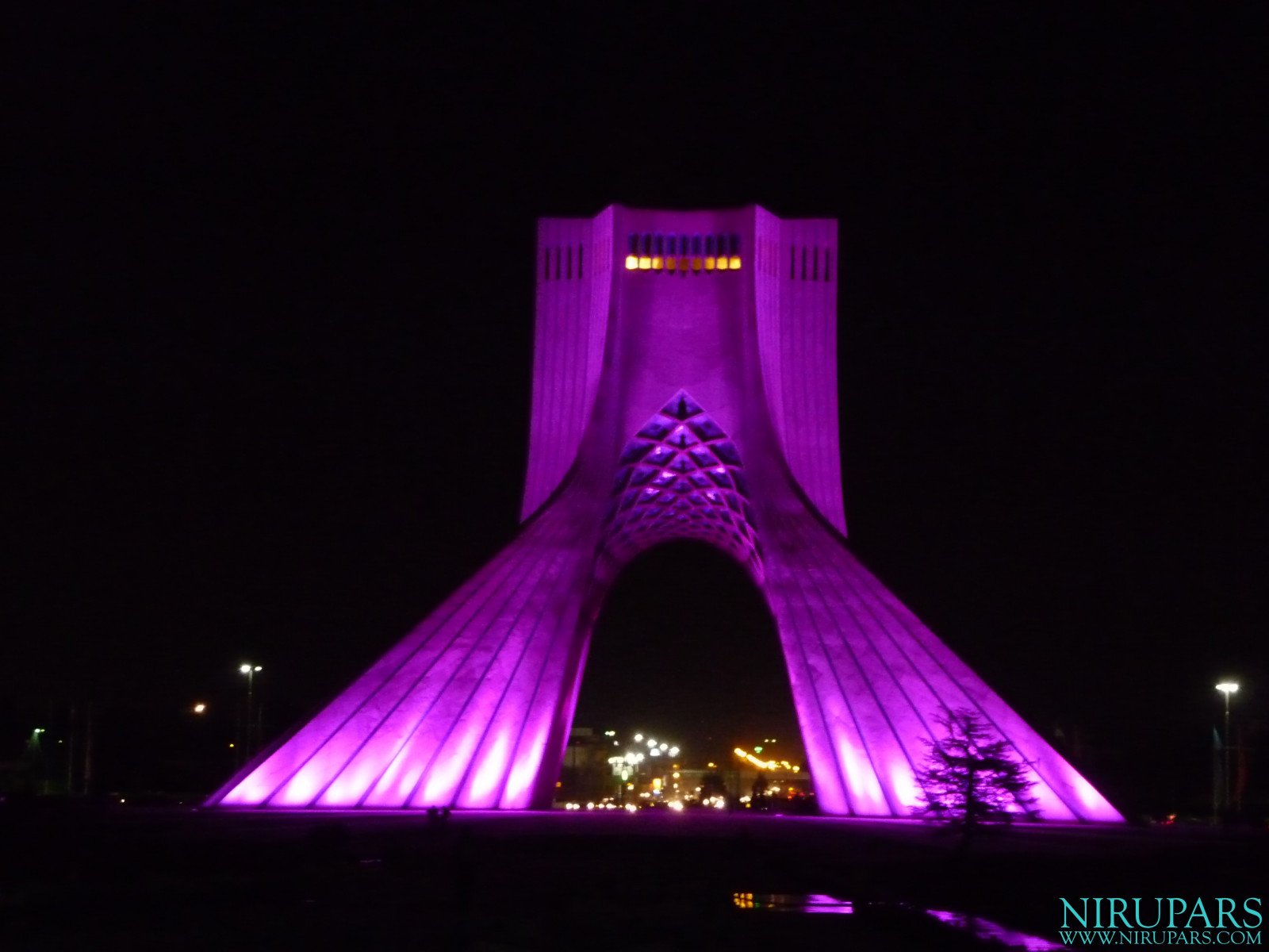 Meydan-e Azadi - Night Purple