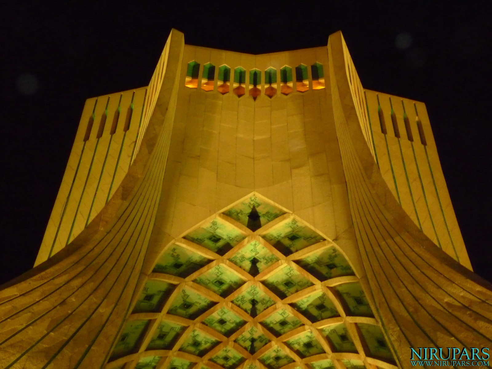 Meydan-e Azadi - Night Yellow