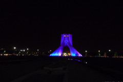 Meydan-e Azadi - Night Blue