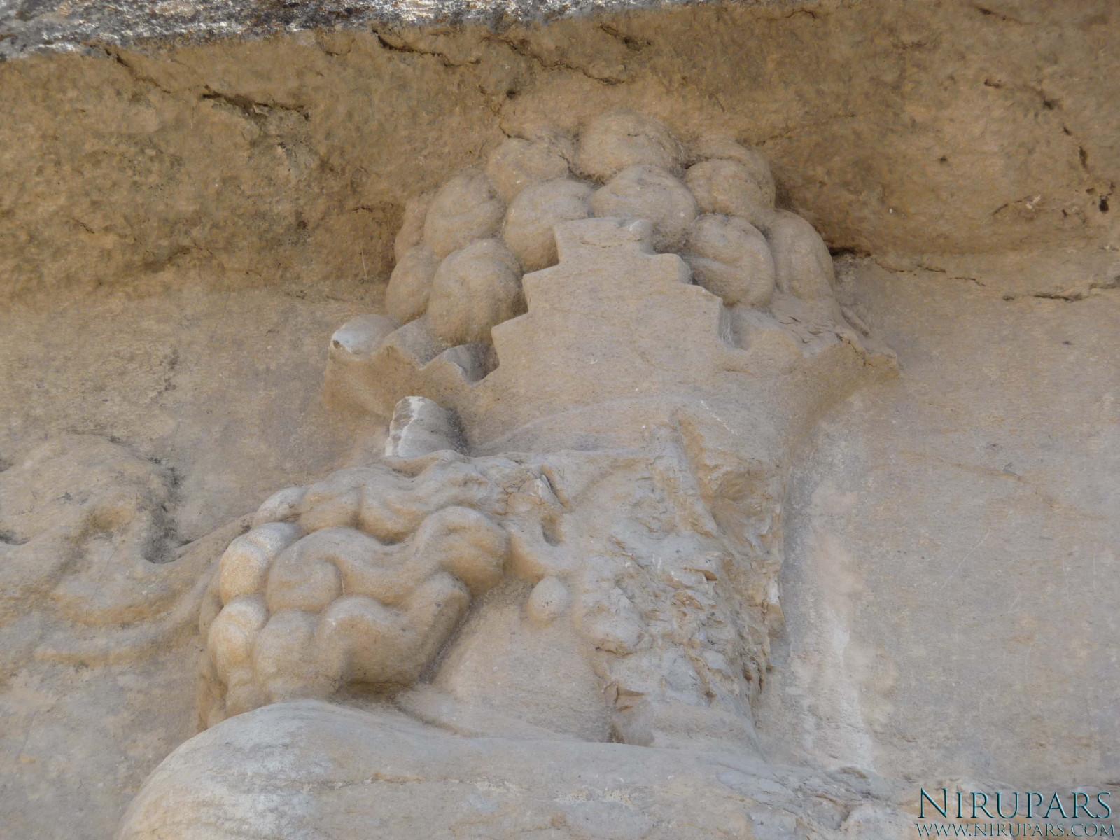Naqsh-e Rajab - Shapur I - Head