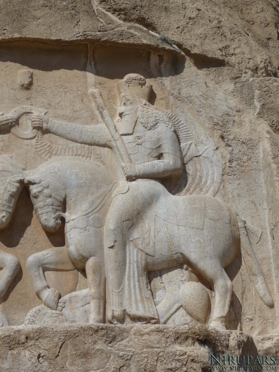 Naqsh-e Rostam - Relief - Ahura Mazda