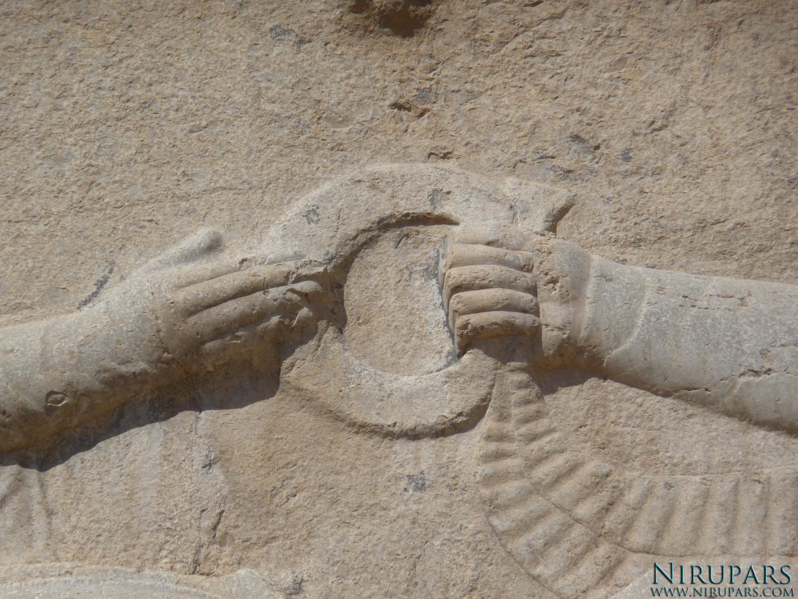 Naqsh-e Rostam - Relief - Ring of Power