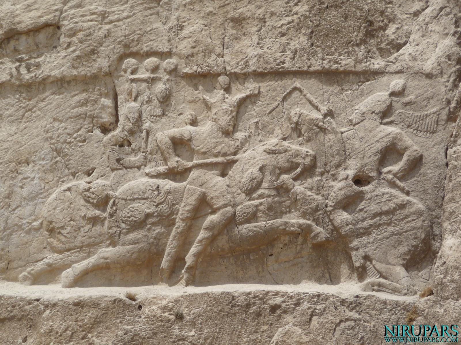 Naqsh-e Rostam - Relief - Bahram II