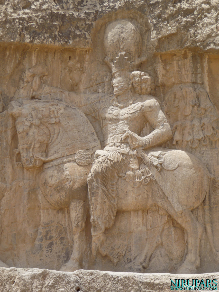 Naqsh-e Rostam - Relief - Shapur the Great