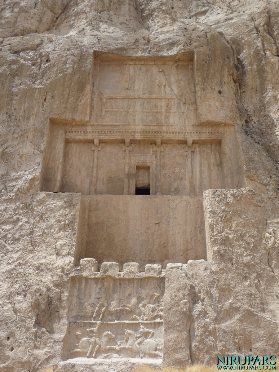 Naqsh-e Rostam - Tomb Darius the Great - Relief Bahram