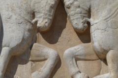 Naqsh-e Rostam - Relief - Ardashir I - Horses