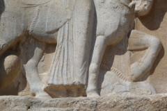 Naqsh-e Rostam - Relief - Ardashir I - Artabanos IV