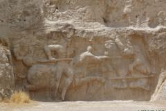 Naqsh-e Rostam - Relief - Hormizd II