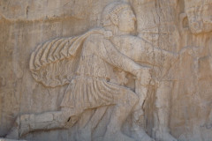 Naqsh-e Rostam - Relief - Shapur the Great - Philip the Arab