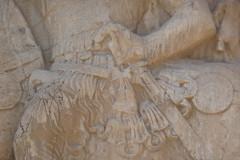 Naqsh-e Rostam - Relief - Shapur the Great - Sword