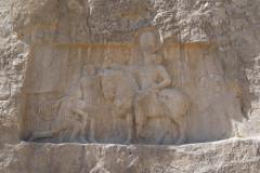 Naqsh-e Rostam - Relief - Shapur the Great - Valerian - Philip the Arab