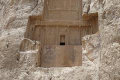 Naqsh-e Rostam - Tomb Darius II - Relief Bahram II