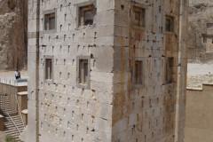 Naqsh-e Rostam - Zoroastrian Tower - Backside