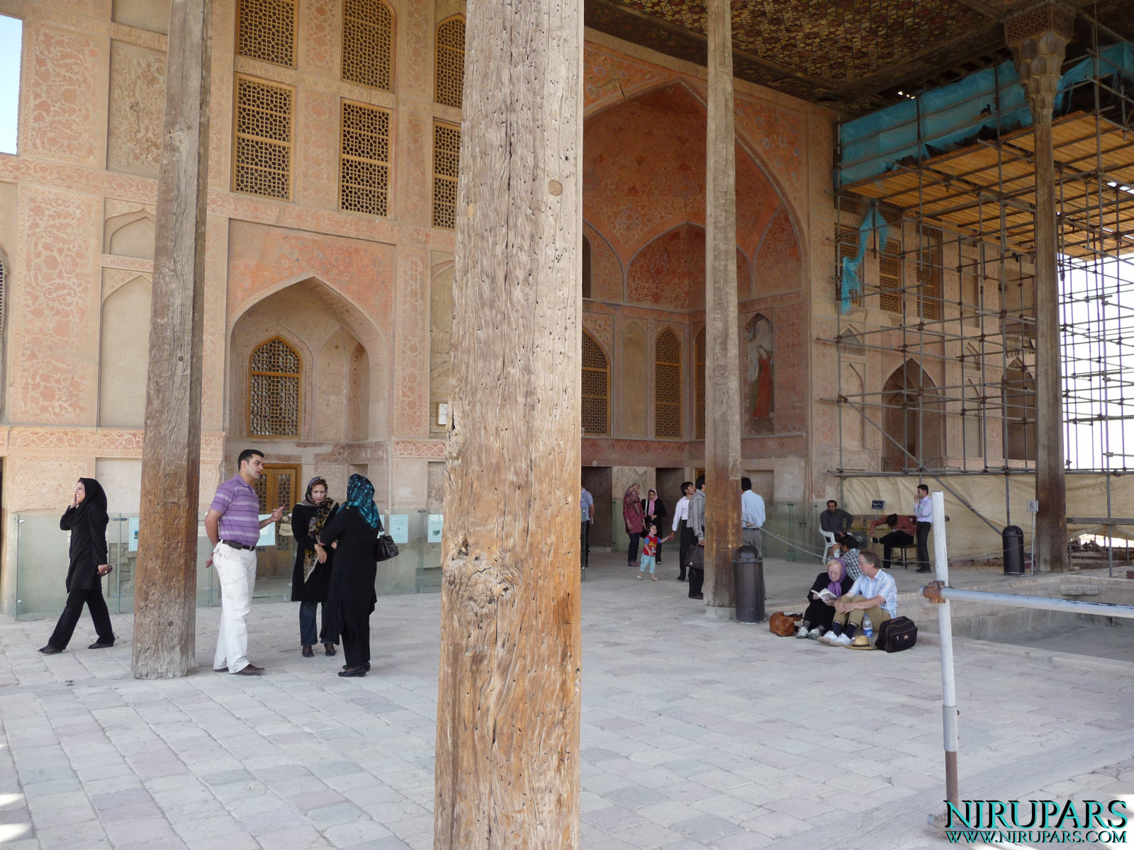 Naqsh-e Jahan - Ali Qapu Palace - Terrace