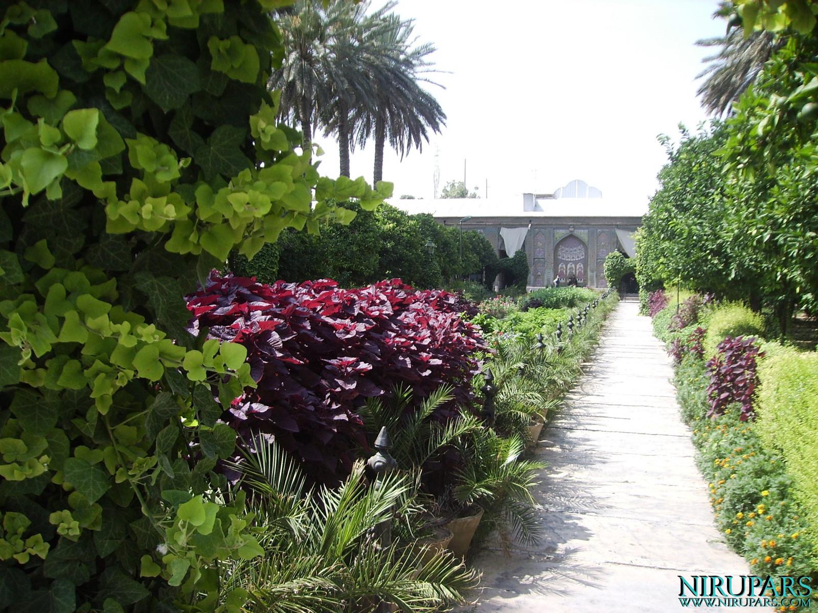 Naranjestan-e Qavam - Garden