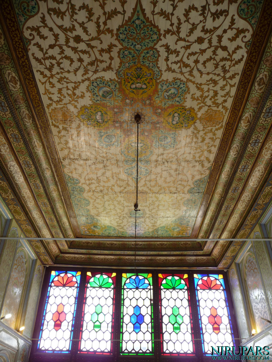 Naranjestan-e Qavam - Ceiling Paintings