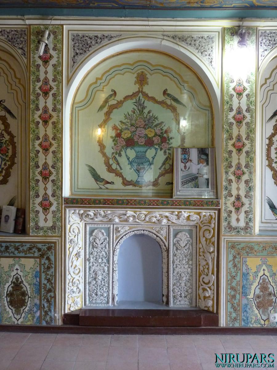 Naranjestan-e Qavam - Room - Wall Painting