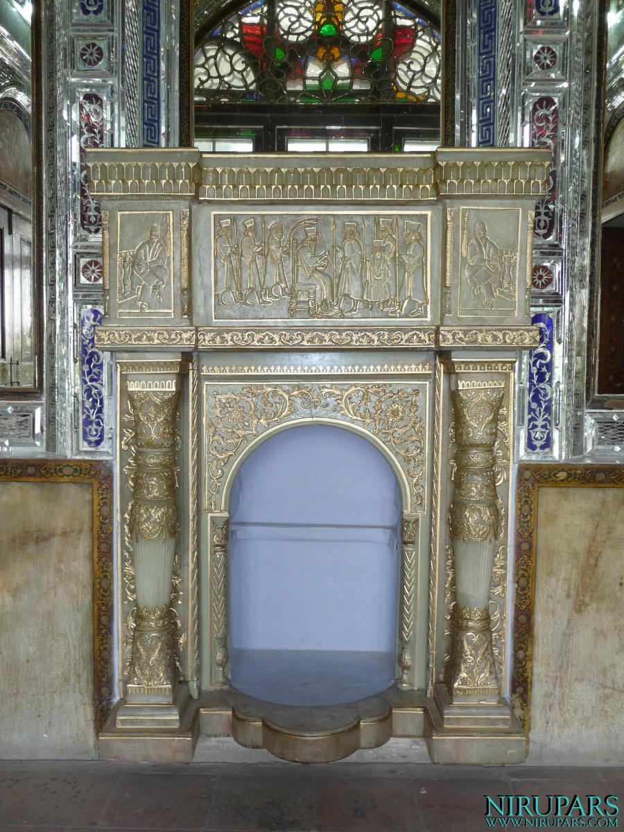 Naranjestan-e Qavam - Terrace Glasroom - Chimney