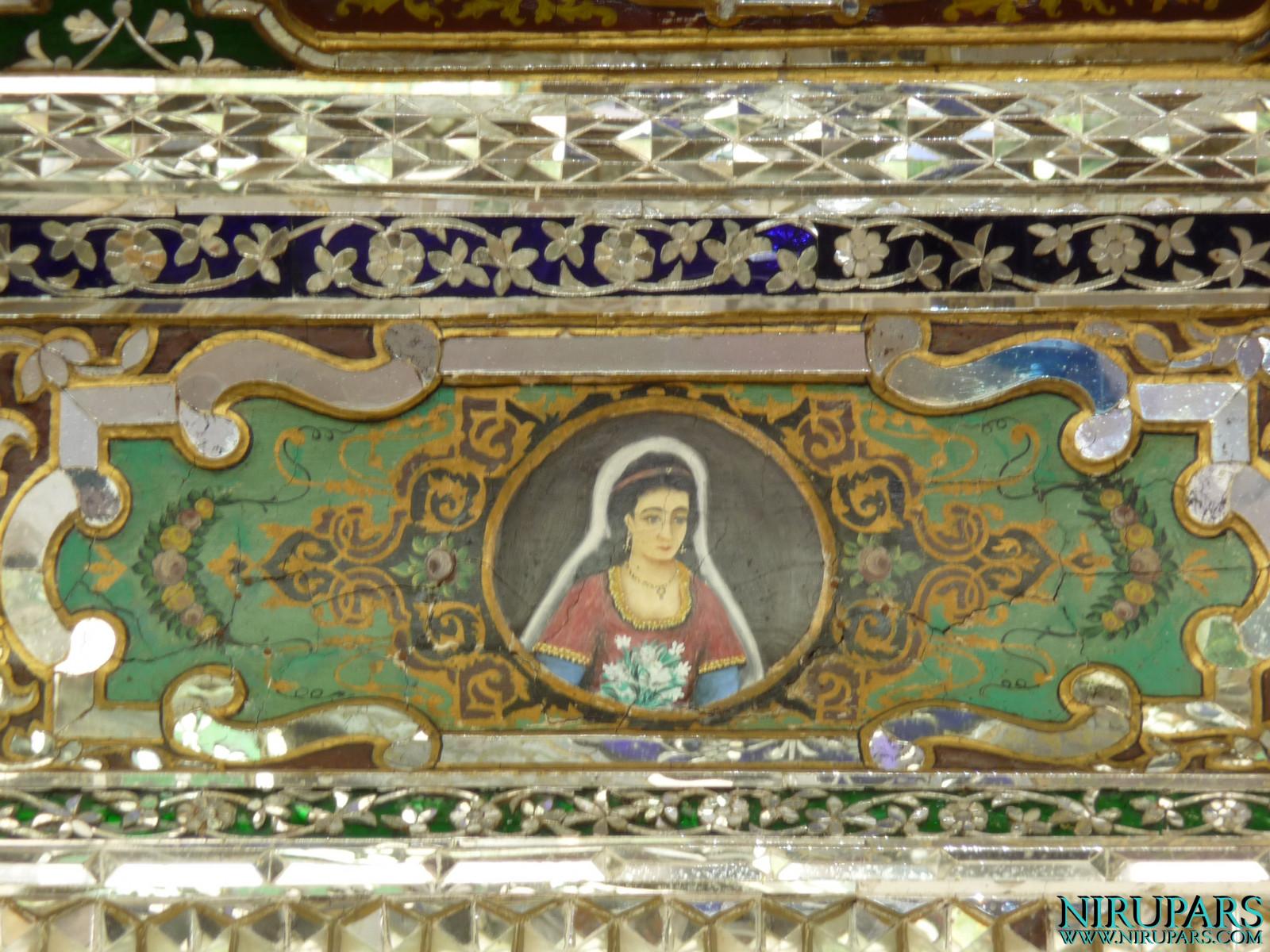 Naranjestan-e Qavam - Terrace - Miniature Painting